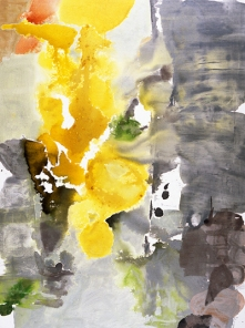 "Julia Nee Chu, ""Early"", 64 x 48 x 2 inches, acrylic on canvas"